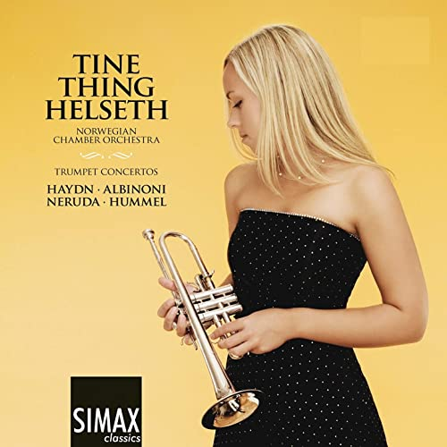 "Tine Thing Helseth ""Trumpet Concertos"" album."