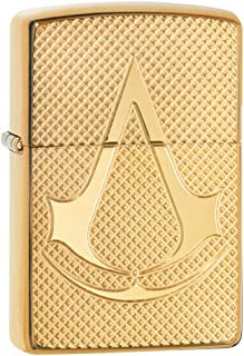 Personalized Message Engraved Customized Assassin's Creed Zippo Indoor Outdoor Windproof Lighter