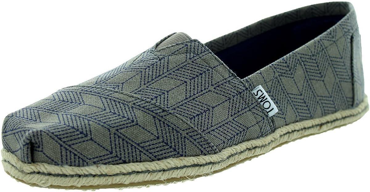 TOMS Women's Classic Ash Canvas Casual Shoe 6 Women US