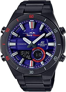 EDIFICE Men's Automatic Wrist Watch analog-digital Display and Stainless Steel Strap, ERA110TR-2A