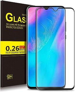 Luibor Protector de Pantalla para Huawei P30 Lite, [Bubble Free] [Cobertura Completa] 9H Dureza HD Transparente Protector de Pantalla de Vidrio Templado Accesorio Huawei P30 Lite Smartphone (1 Pieza)