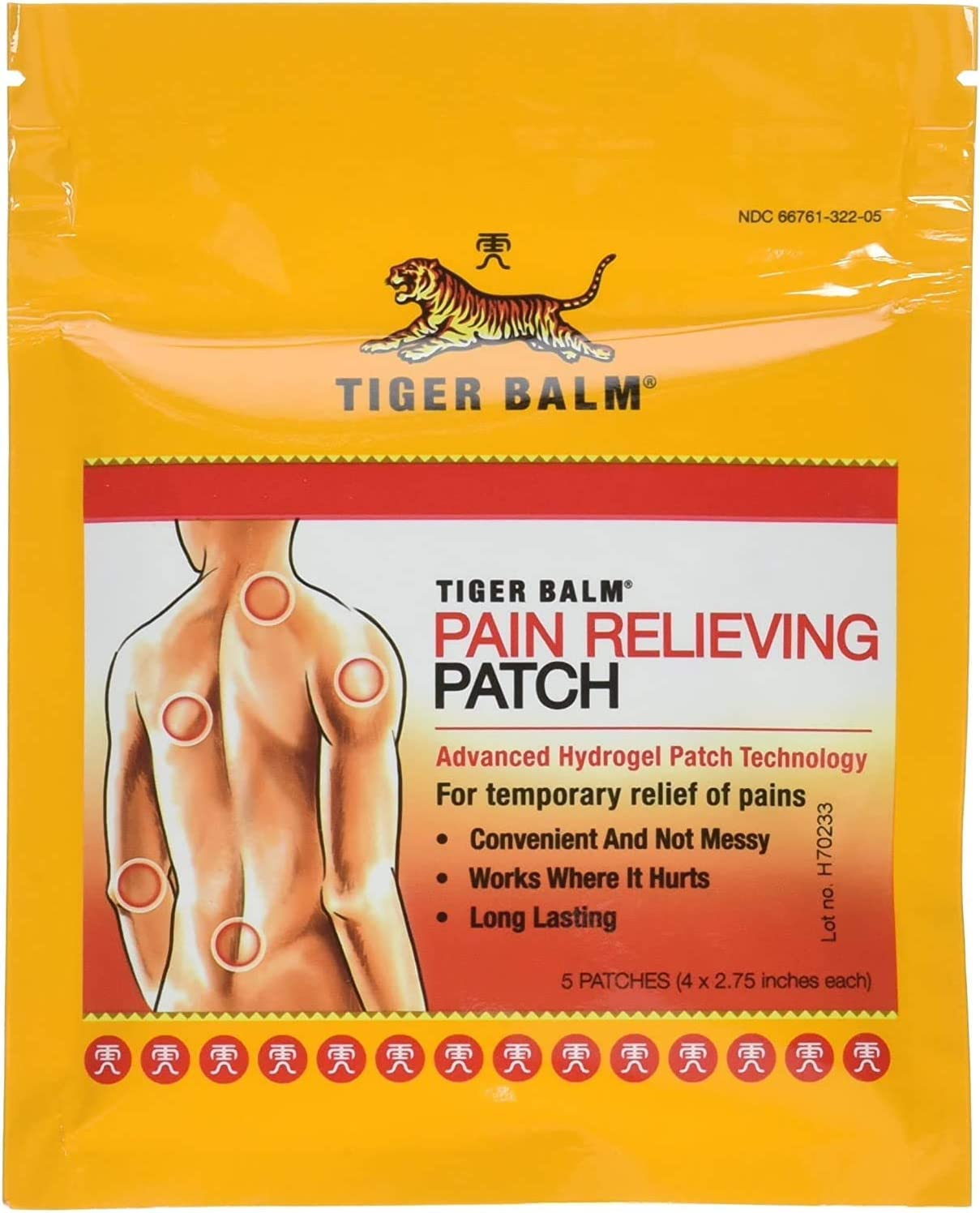 Tiger Balm Patches 4