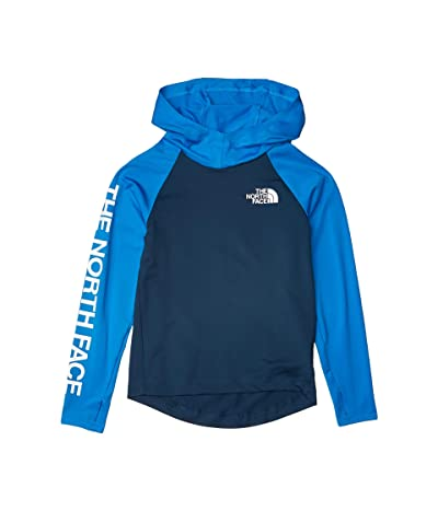 The North Face Kids Long Sleeve Class V Water Hoodie (Little Kids/Big Kids) (Blue Wing Teal) Boy