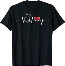 Koala Heartbeat Gift Wild Animal Lover Funny EKG Koala Cute T-Shirt