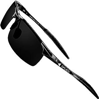 Men's Driving Polarized Sport Sunglasses Al-Mg Metal...
