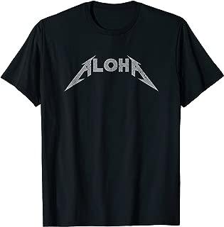 Aloha Lightning Bolt Logo T-shirt