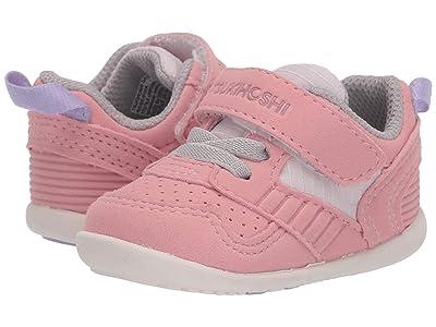 Tsukihoshi Kids Racer (Infant/Toddler) (Rose/Pink) Girls Shoes