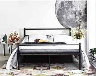 Aingoo Cadre de Lit Double en Métal Cadre de lit Adulte avec Lattes Métallique pour Adulte et Chambre d'enfants Lit 140x19...