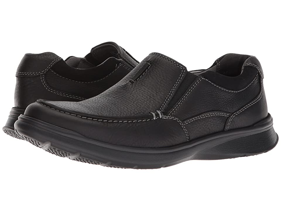 Clarks Cotrell Free (Black Oily Leather) Men