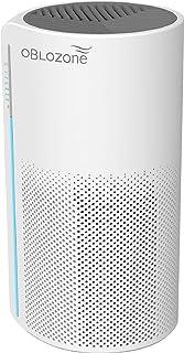 Oblozone Air Purifier Medical Grade H13 True HEPA & Active Carbon Filter, Anti-Allergen, Virus Killer, Germ Guardian, Remo...