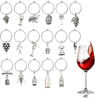 Party Wine Charms Mulitpack Wine Charms Red Wine Glass Charms