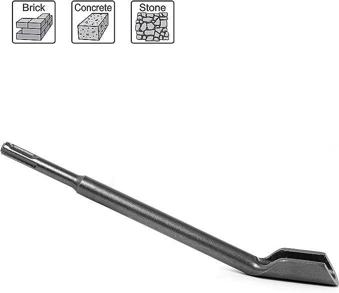 331 opinioni per S&R Scalpello Concavo SDS Plus 14 x 250 x 22 mm. Sgorbia per scavare canaline in