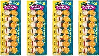 28-Count Dingo Indulgence Mini Bones, Cheese Flavor - (4 Packs with 7 Mini Bones per Pack)