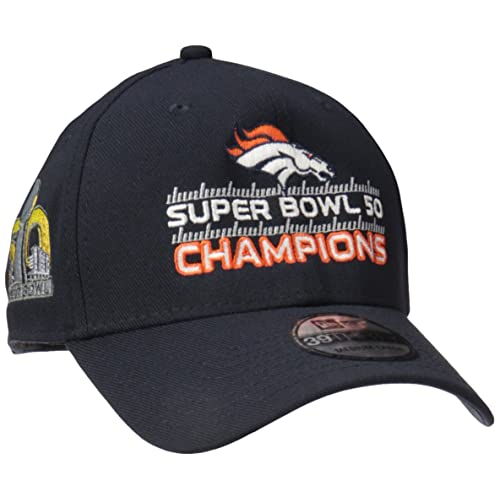 4da08ceea NFL Super Bowl 50 Champions Denver Broncos 39THIRTY Stretch Fit Cap