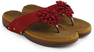 Hush Berry Extra Soft Flower Slipper for Women