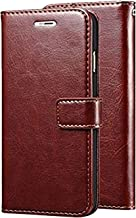 CEDO PU Leather Magnetic Flip Cover Wallet Back Cover Case for Xiaomi Redmi Y3 (Brown)