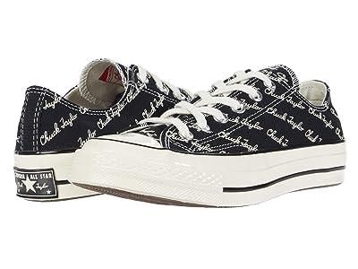 Converse Chuck 70 OX (Black/Egret/Egret) Athletic Shoes
