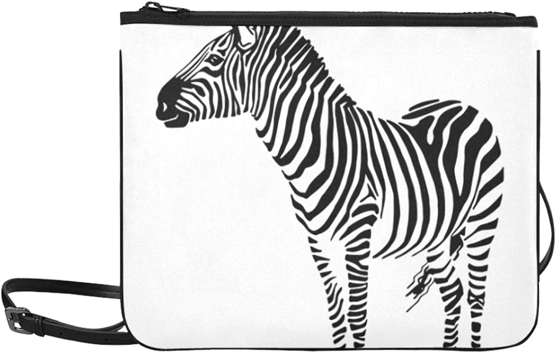 Carry On Shoulder Bag Cute Stripe Cheap wholesale sale Simple Kawaii Adjustable Zebra