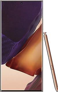 Samsung Galaxy Note20 Ultra Dual SIM 256 GB 12GB RAM 5G (UAE Version) - Mystic Bronze - 1 year local brand warranty