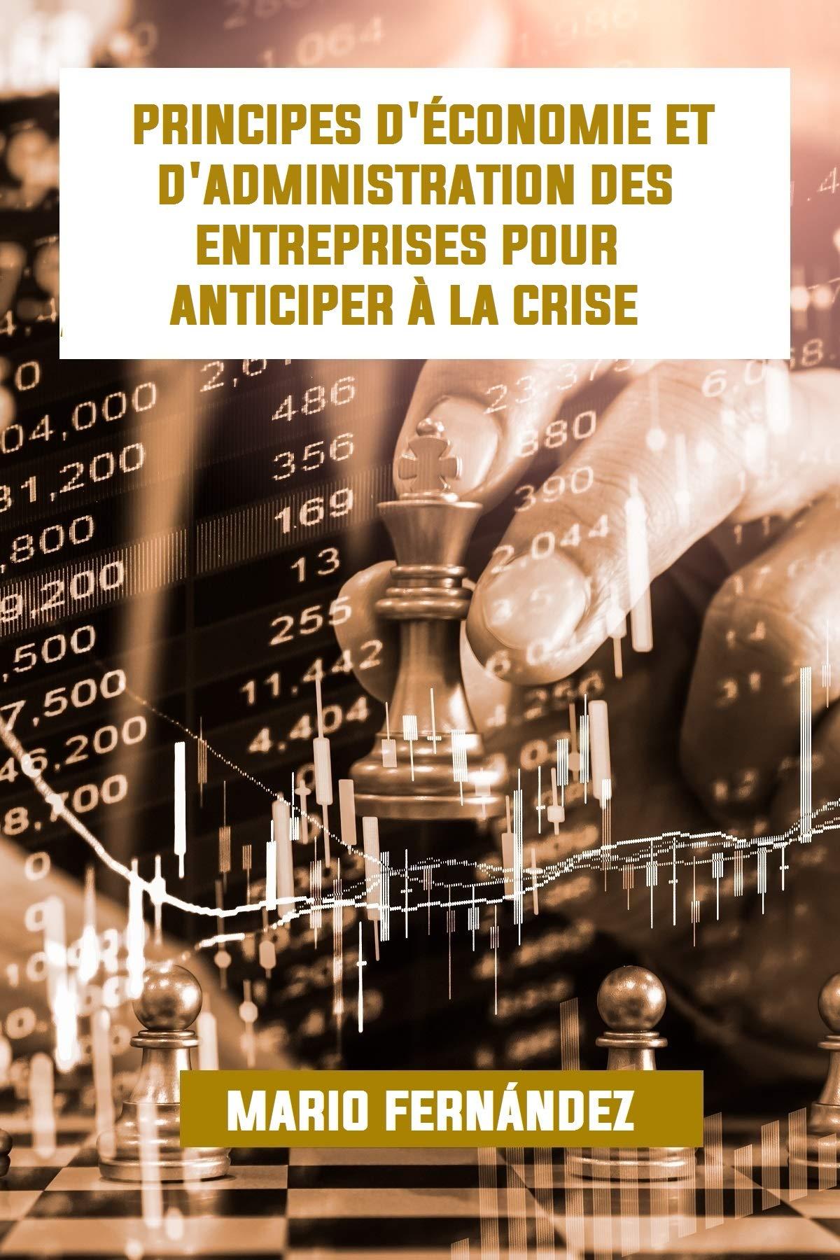 PRINCIPES D'ÉCONOMIE ET D'ADMINISTRATION DES ENTREPRISES POUR ANTICIPER À LA CRISE (French Edition)