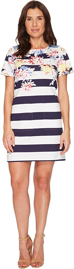 Joules - Seren Jersey/Woven Mix Dress