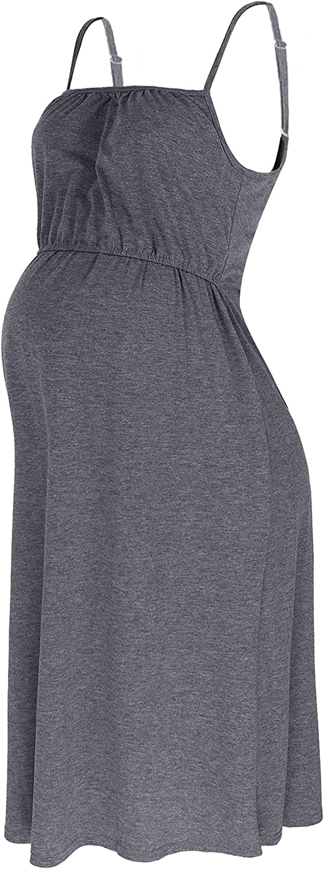 QinCiao Women's Nursing Max 41% OFF Nightshirt Nightgown Shoulder Phoenix Mall Adjustable