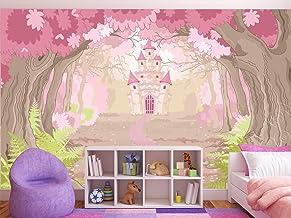 Oedim Papel Pintado para Pared Infantil Castillo de Princesas | Fotomural para Paredes | Mural | Papel Pintado | 200 x 150 cm | Decoración comedores, Salones, Habitaciones