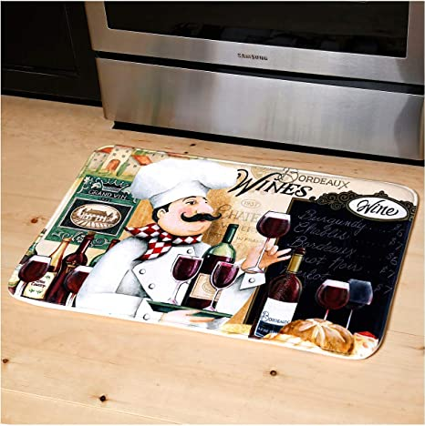 Amazon Com Relax Series Series 20 X30 Antifatigue Kitchen Mats Vino Chef Kitchen Dining