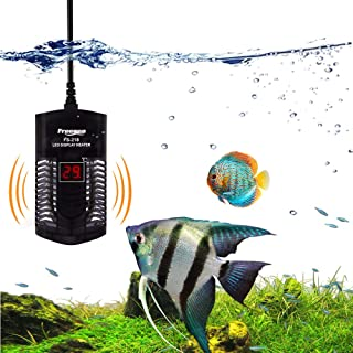 YCTECH Aquarium Fish Tank Submersible Heater with Adjustable Thermostat LED Temperature Display (SS-200W 300W)