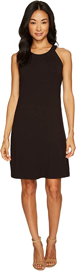 Tambour Sleeveless Short Dress
