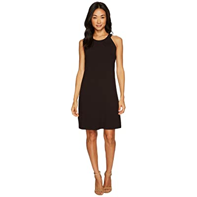 Tommy Bahama Tambour Sleeveless Short Dress (Black) Women