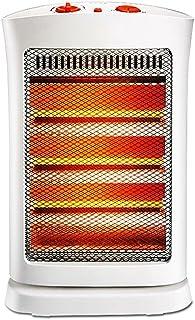 Calentador QFFL Vertical Sacudiendo la calefacción termoeléctrica de su Cabeza Calefactor de Oficina en el hogar de bajo Consumo de energía Enfriamiento y calefacción