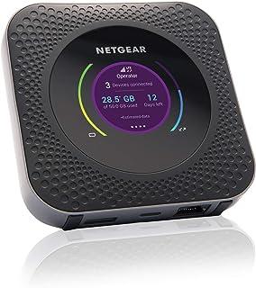 NETGEAR Nighthawk Router 4G MR1100, Router Wifi con sim e Porta Ethernet, Velocità di Download fino a 1 Gbps