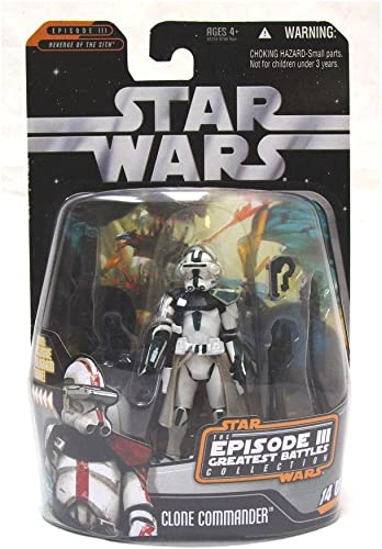 Star Wars The Episode III Plus Grands Battles- Comhommedant Clone   14