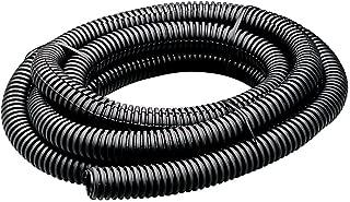 Flexible Polyethylene Wire Loom, 2 Inch Diameter, 7 Feet, Black