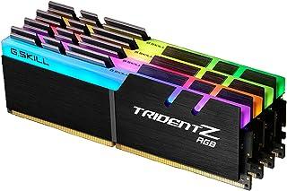 G.Skill Trident Z RGB 64GB DDR4 módulo de - Memoria (64 GB, 4 x 16 GB, DDR4, 3600 MHz, 288-pin DIMM, Negro)