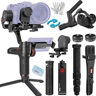 Zhiyun WEEBILL Lab - Estabilizador de Mano para cámaras réflex Digitales sin Espejo Canon Sony Nikon Panasonic Smartphone 3 kg Payload transmisión de Imagen inalámbrica