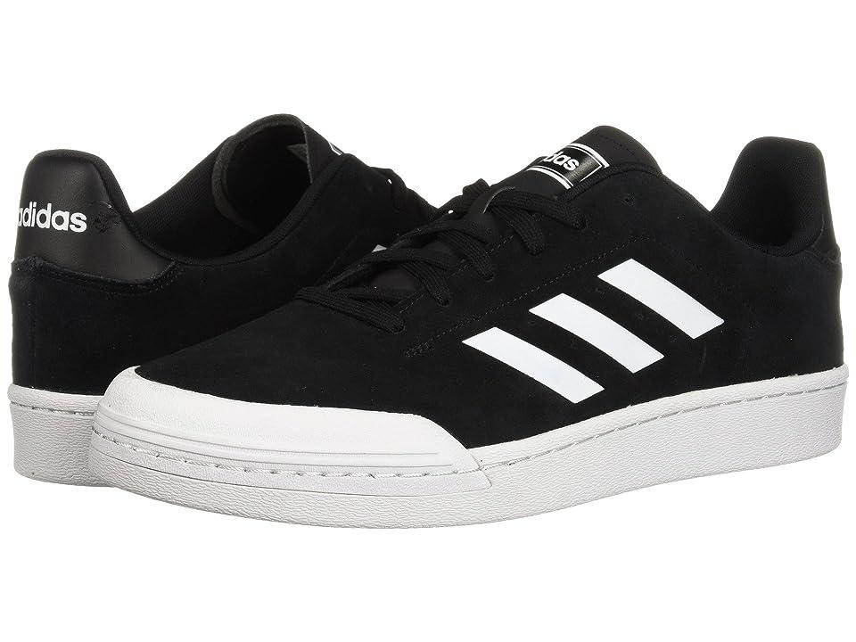 adidas Court 70s (Black/White/White) Men