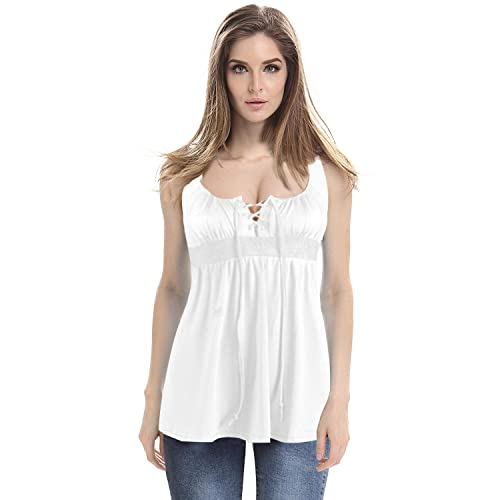 0abe411815706 Mooncolour Women s Cold Shoulder Hollow Out Casual Tunic Solid Blouse Tops