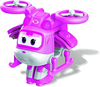 "Super Wings EU740044 Transform-A-Bots 2"" Character Supercharged Dizzy, Pink"