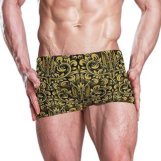 DEYYA Mens Galaxy Unicorn Summer Beach Shorts Pants Swim Trunks Board Short for Men