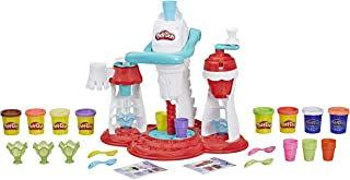 Play-Doh Super Ijsmachine, Kneedijs Speelset Met 8 Kleuren