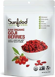 Sunfood Goji Berries (8 Ounce)