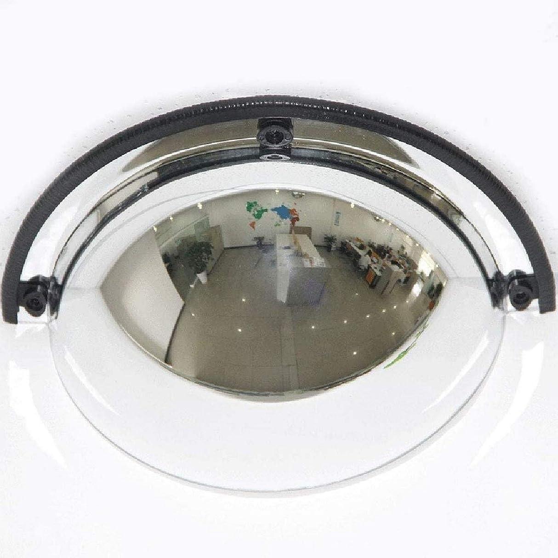 いらいらする昆虫を見る上がるミラーパノラマハーフドーム凸面鏡、1/4球面、180度の視野角、安全性、ショップ、オフィス工場、ワークショップに適しています(サイズ:30cm(12インチ))