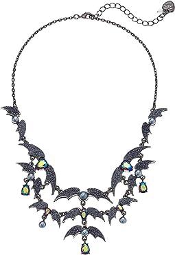 Bat Bib Necklace