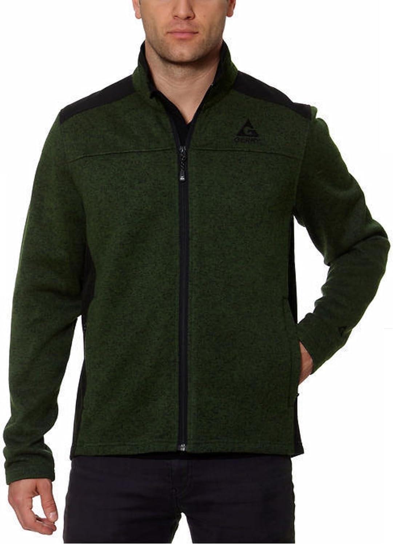 Gerry Men's Mixed Media Jacket - Green