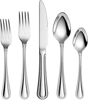 20-Piece 18/10 Stainless Steel Flatware Sets, Extra Thick Heay Duty Flatware Service for 4