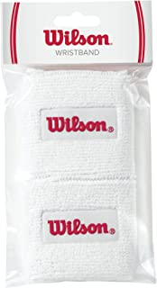 Wilson Wristbands, White