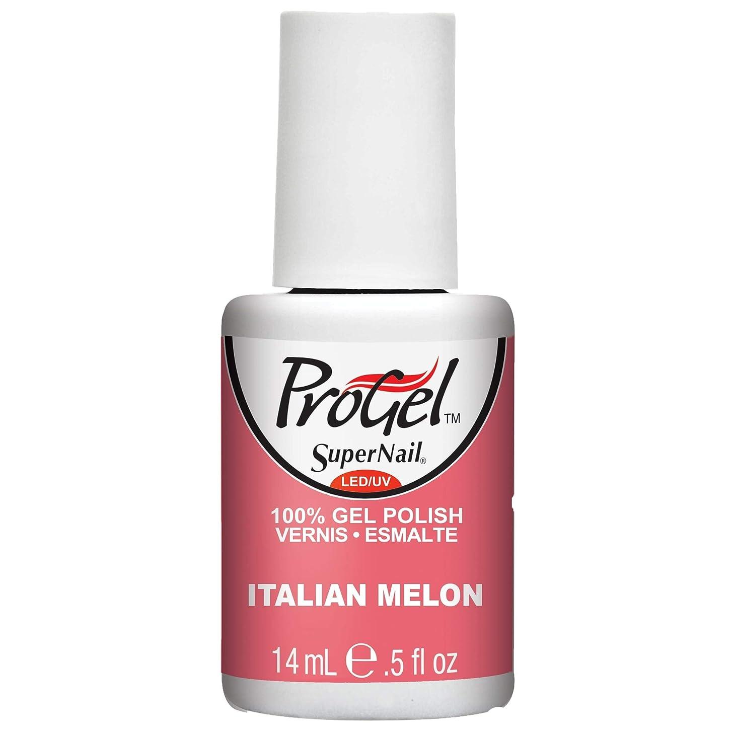 不愉快にビジネス所得SuperNail ProGel Gel Polish - Italian Melon - 0.5oz / 14ml