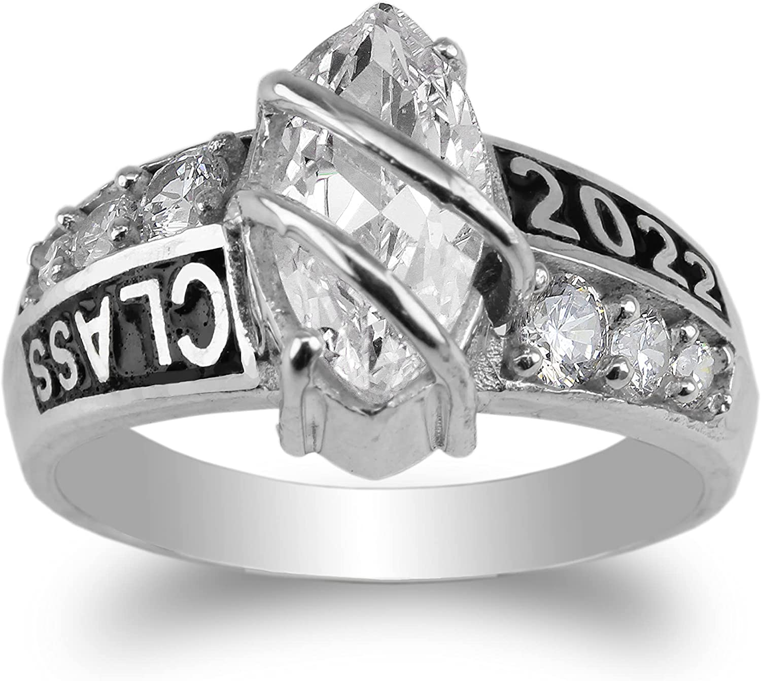 JamesJenny 925 Sterling All items in the store Detroit Mall Silver Class Graduation wit of 2022 Ring